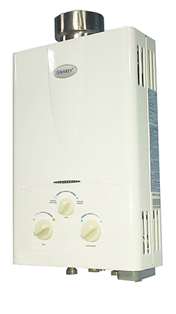 Marey Power Propane Gas Tankless Water Heater