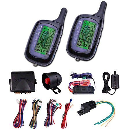 Yeskom Vehicle Security Paging Car Alarm