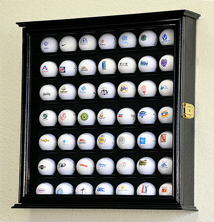 49 Golf Ball Display Case