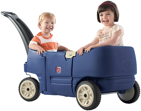 Step2's Wagon Designed for Two Plus