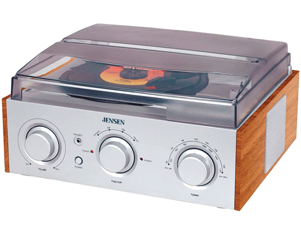 The 3-Speed Stereo Turntable by Jensen