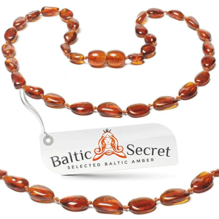 Baltic Secret Baltic Amber Teething Necklace