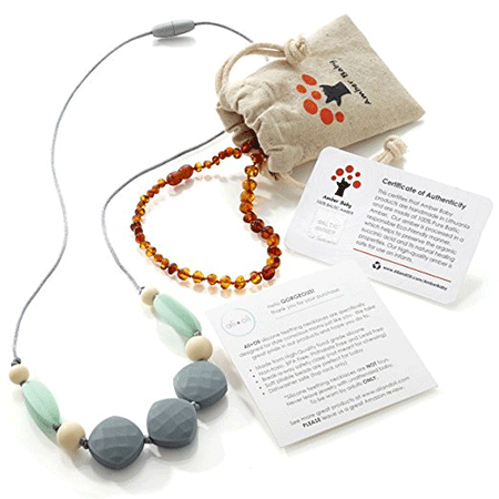 Amber Baby Baltic Amber Teething Necklace
