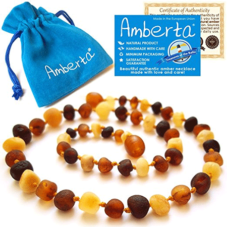 Amberta Amber Teething Necklace for Babies