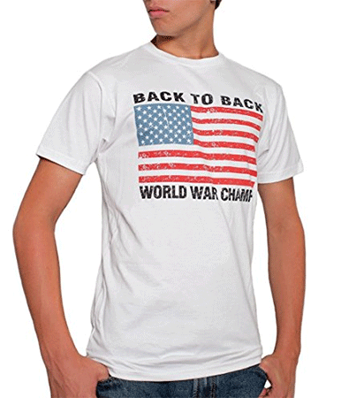 USA Back to Back World War Champs Mens