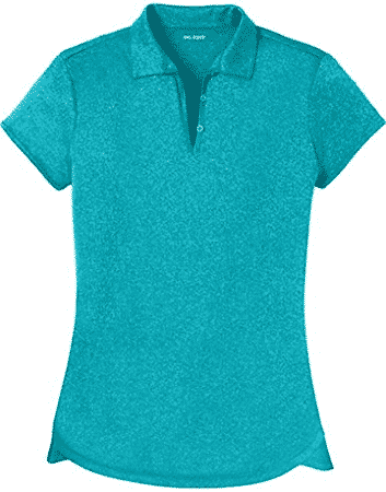 DRI​ EQUIP Ladies Moisture Wicking Heather Golf