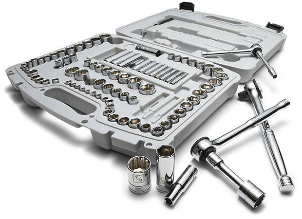 The Denali 93 Piece Socket Set