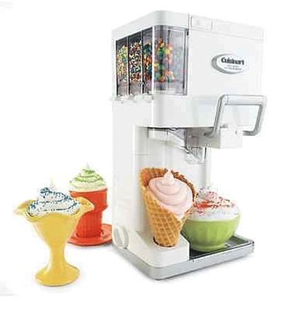 Cuisinart Ice Cream Maker Frozen Yogurt
