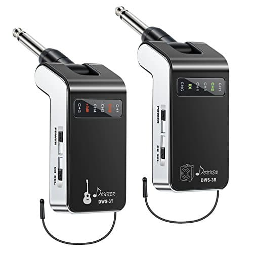 New Version Donner New Version Donner Rechargeable Wireless Guitar System DWS-3 Digital Guitar Bass Audio Transmitter and Receiver