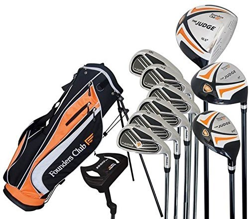 The Judge Founders Club Complete Golf Set