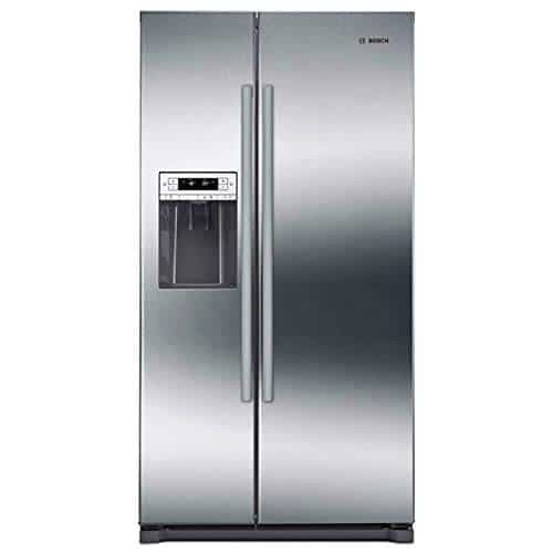 Bosch B20CS30SNS 300 Series 36 Inch Built In Counter Depth Side by Side Refrigerator in Stainless Steel