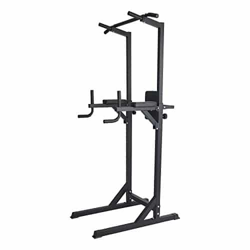 Livebest Heavy Duty Adjustable Power Tower Multi-Function Fitness Equipment for Home Gym