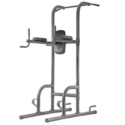 Durable Multi-Function Body Power Tower w/Dip Station Pull Up Bar for Home BestMassage