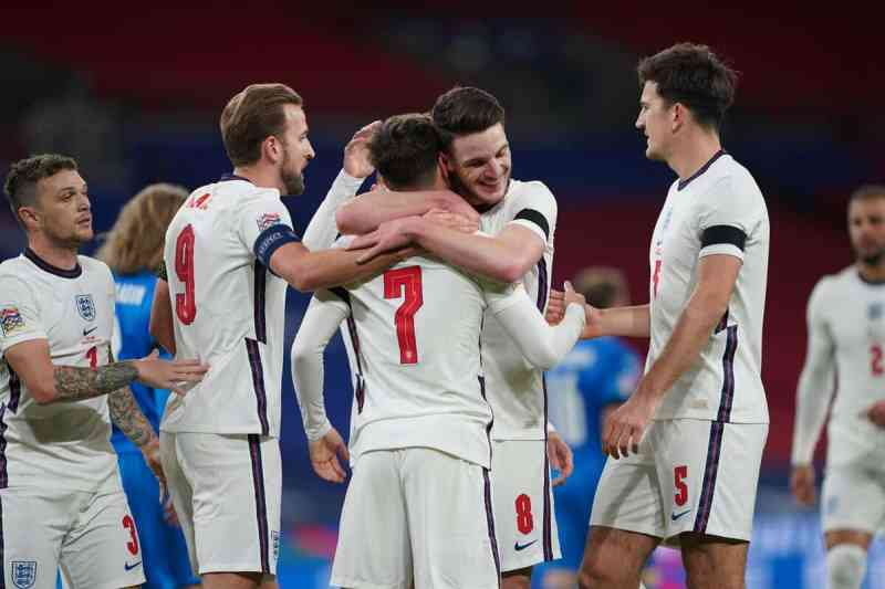 England beat Iceland in the Nations League Group B clash