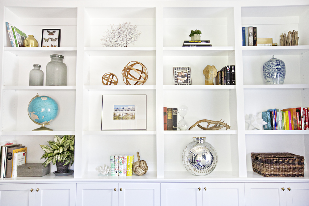 In Addition To Selecting And Laying Out Furniture We Are Helping Them Style Their Bookshelves One Of Our Favorite Sources