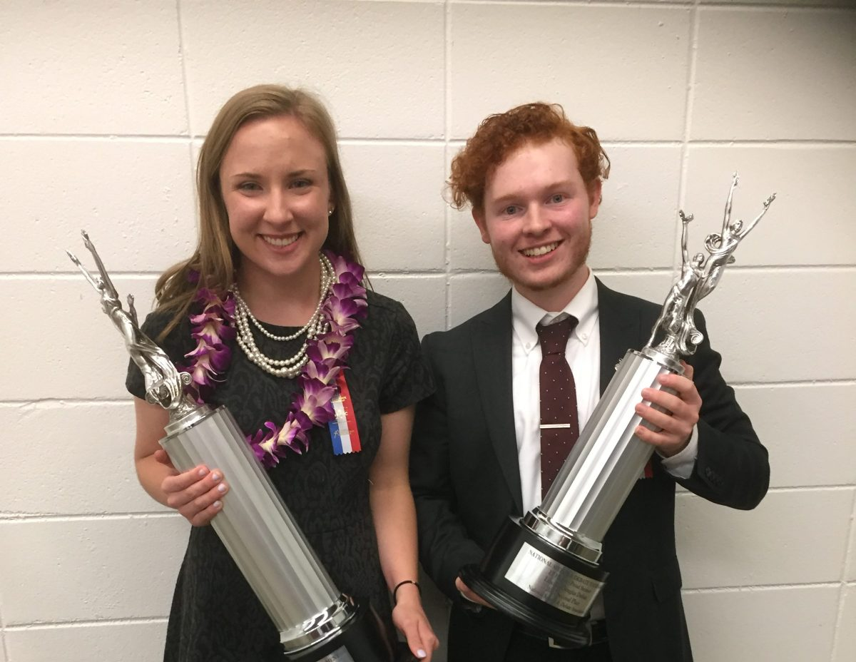 Natalie Schaller Wins NSDA Nationals
