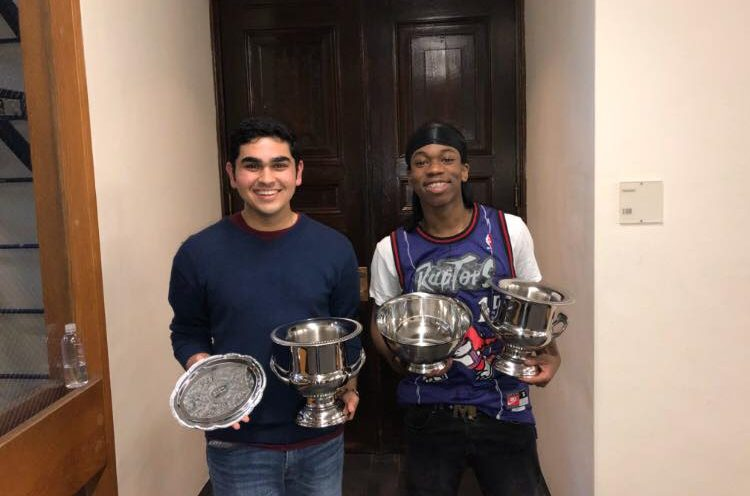 Ishan Bhatt and Sekou Cisse Co-Champion Harvard