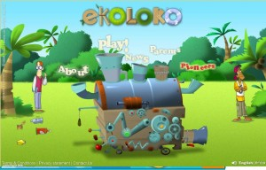 Ekoloko - a virtual world for 7-12 year olds