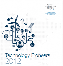 Technology Pioneers 2012 WEF