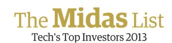 VC midas list 2013 forbes
