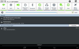 Samsung Galaxy Tab 2 10.1 WiFi (GT-P5110) mit Android 4.2.2