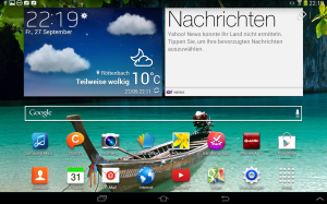 Samsung Galaxy Tab 2 10.1 WiFi (GT-P5110) mit Android 4.2.2