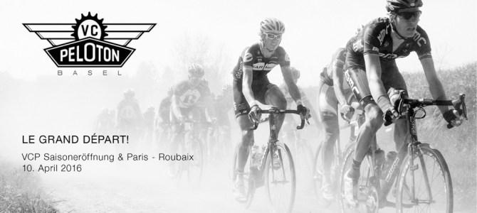 Saisoneröffnungsfahrt & Paris – Roubaix