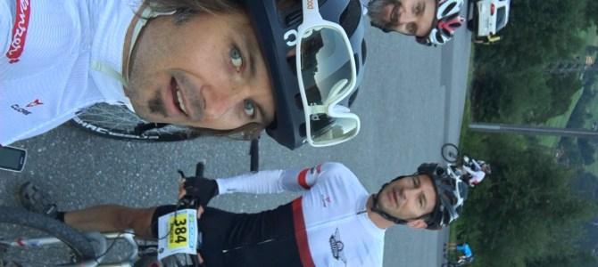 Kristof, Paul und Andy an der Eiger Bike Challenge