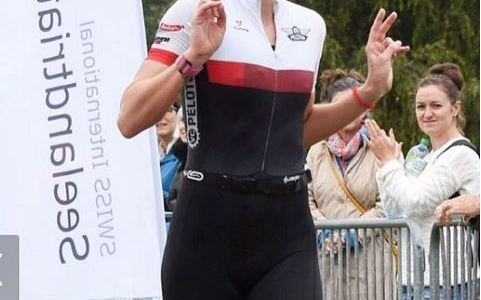 Flora holt den hervorragenden 2ten Platz am Seeland Triathlon!