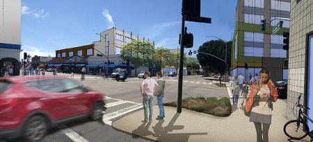 Concept art shows proposed changes to downtown Oxnard.