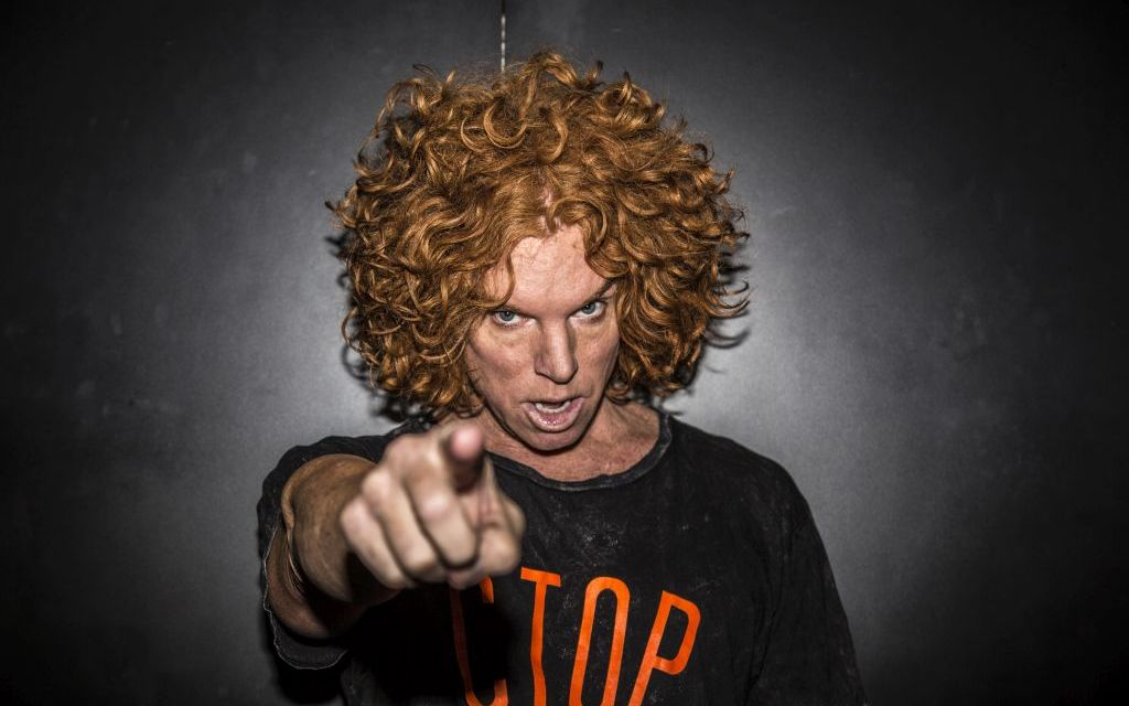 KING OF PROPS COMING TO THE CANYON | Carrot Top talks comedy, Vegas and developing his original act
