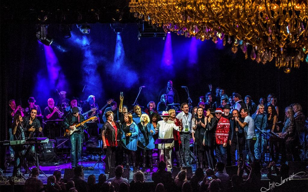 KINDRED SPIRITS   The Tribe performs a benefit concert at The Canyon