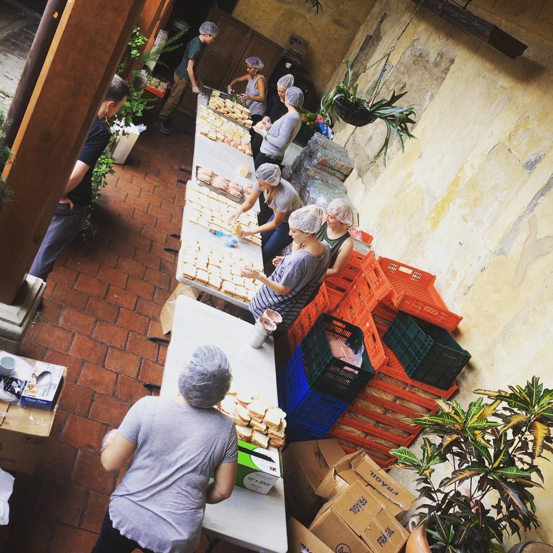 preparing meals with world central kitchen in guatemala - World Central Kitchen