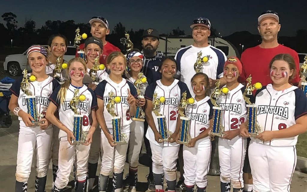 WHO'S ON FIRST | In first, Ventura Girls Fastpitch team