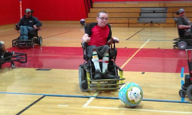 ROLLIN' REBELS | Area residents join in the first competitive soccer team for the wheelchair bound