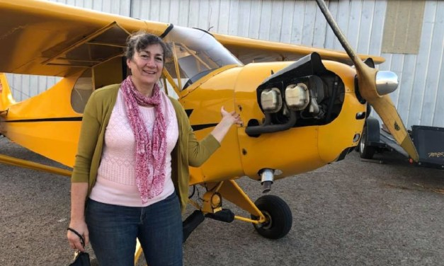 UPLIFTED   Local resident takes flight after decades of putting off dreams, thanks to nonprofit