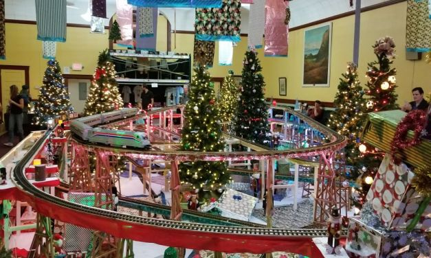 CHRISTMAS EXPRESS | The Santa Paula Odd Fellows train display brings joy to the holiday season