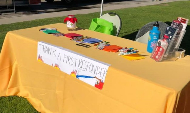 SIGNED, SEALED, DELIVERED | Area resident spends year writing, gathering cards for Thomas Fire first responders