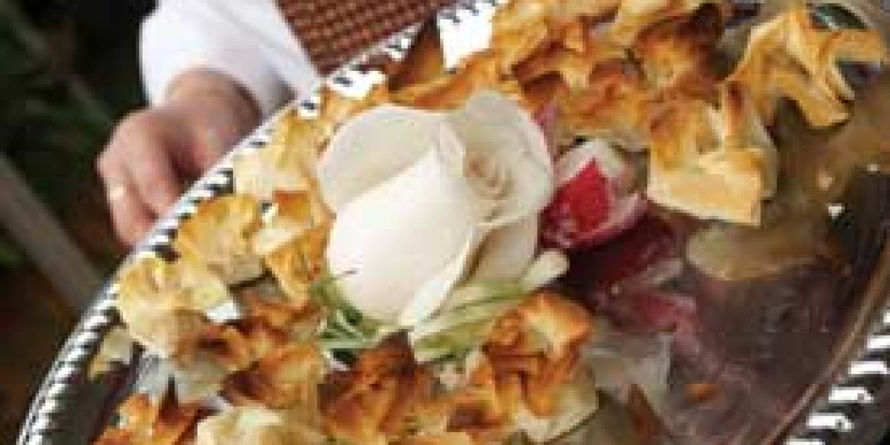 Love and marriage … and food