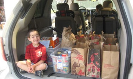 T.O. child donates 255 pounds of food to FOOD Share