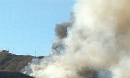 DEVELOPING: Brush fire in Ventura foothills