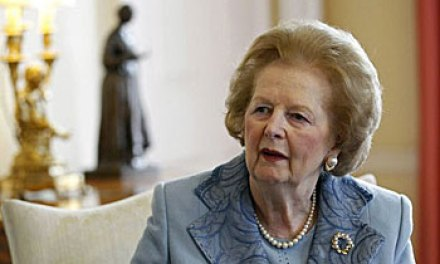 Once … twice … three times an Iron Lady