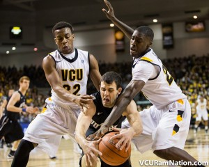 VCU forced 23 Butler turnovers in the 84-52 win.