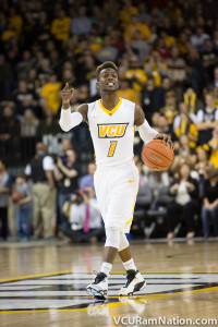 JeQuan Lewis was the lone bright spot in VCU's loss to La Salle. The sophomore scored a career-high 26 points.