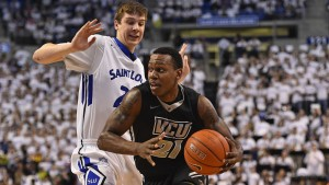 Treveon Graham hit the game-winning layup with 0.9 seconds to play when VCU defeated SLU in their first matchup of the season.