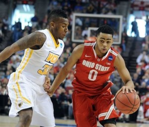 Ohio State freshman D'Angelo Russell scored 28 points against VCU. Russell is projected as the No.2 overall pick in the 2015 NBA Draft by NBADraft.net