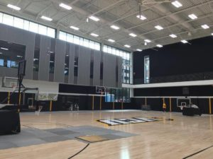 VCU's state-of-the-art practice facility is scheduled to officially be completed by the start of November.