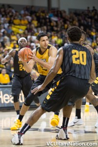 JUCO transfer Ahmed Hamdy has been sensation for VCU, connecting on 62.5% of his attempts this season.