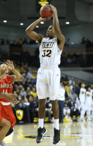Melvin Johnson connects on one of his five three-point makes on the night.
