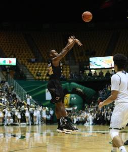 Melvin Johnson become VCU's all-time three-point king in tonight's tough loss in Fairfax, breaking BA Walker's record.
